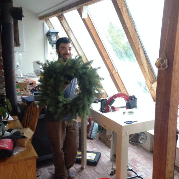 blue spruce wreath
