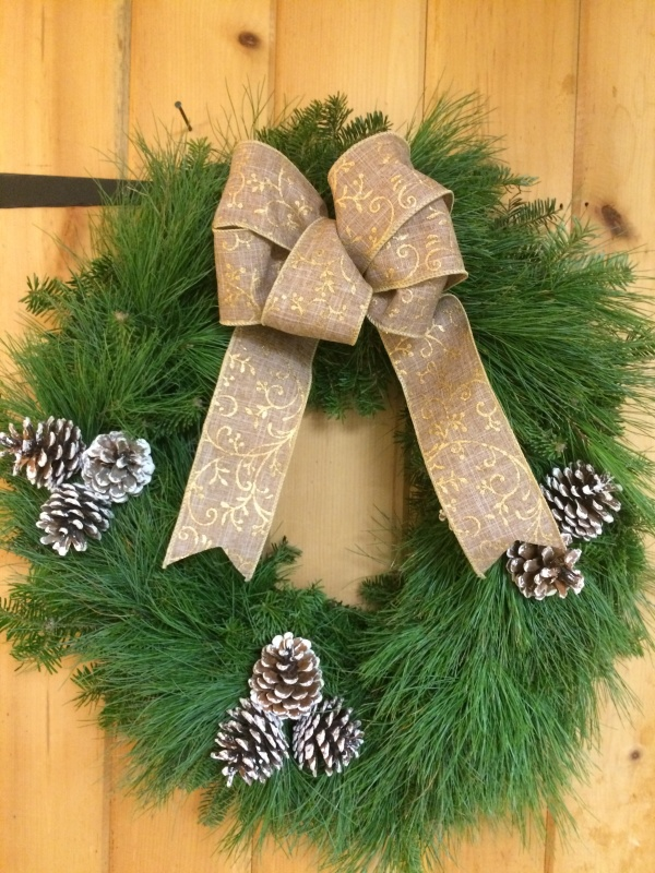 Maple Hollow Mixed Wreath