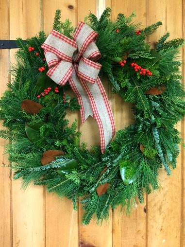 2017 Maple Hollow Tree Farm Wreath